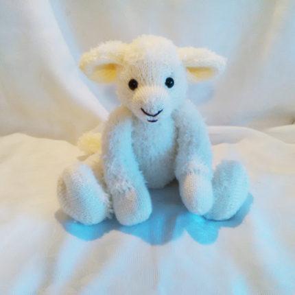 lamb free animal knitting pattern