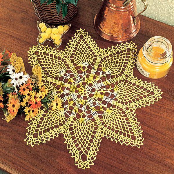 Small Pineapple Doily Pattern