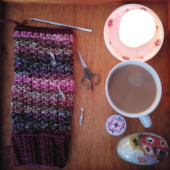 DIY Crochet Leg Warmers