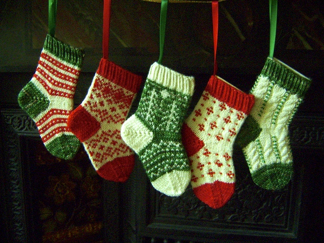 Crochet Christmas Stocking Pattern