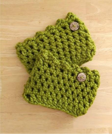 Crochet Pattern Friendship Boot Cuffs