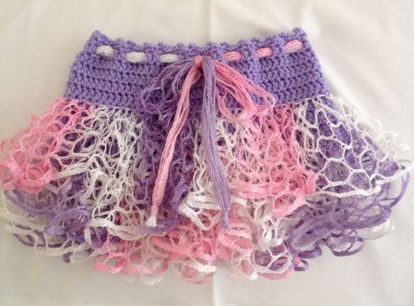 Crochet Skirt Design