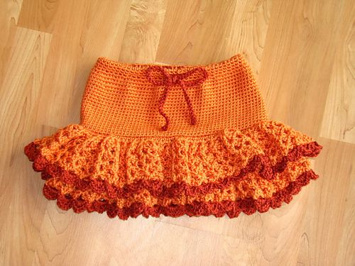Crochet Skirt Pattern for Toddlers