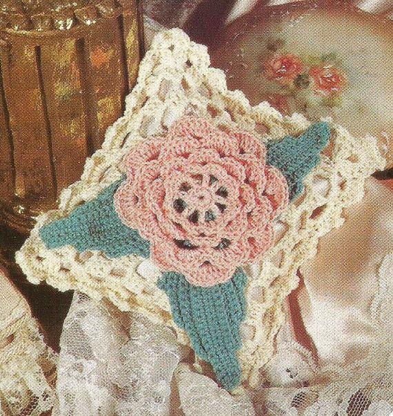 Crochet Wild Rose