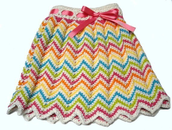 Enchanting Crochet Skirt Pattern