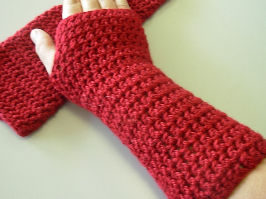 Fingerless Gloves Crochet Patterns
