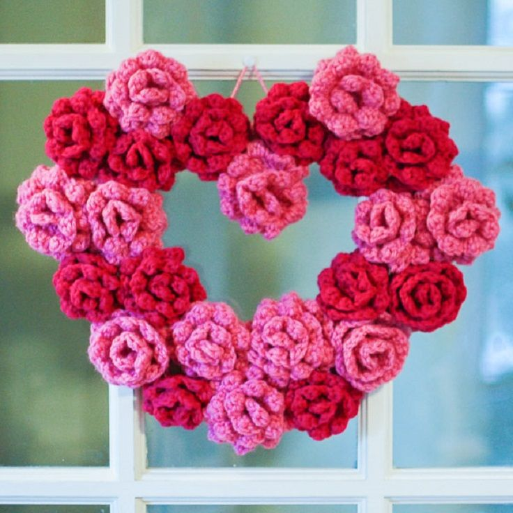 Pattern for Crochet Roses
