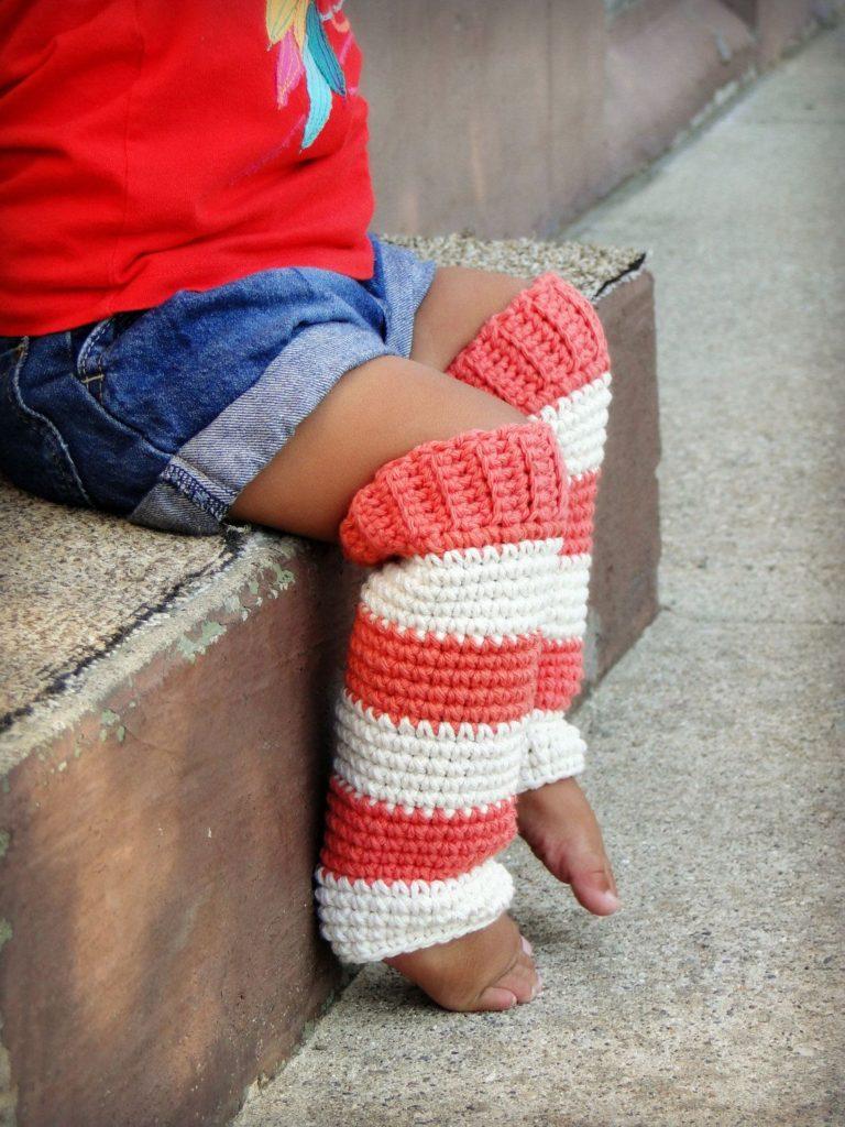 Pattern for Toddler Crochet Leg Warmer