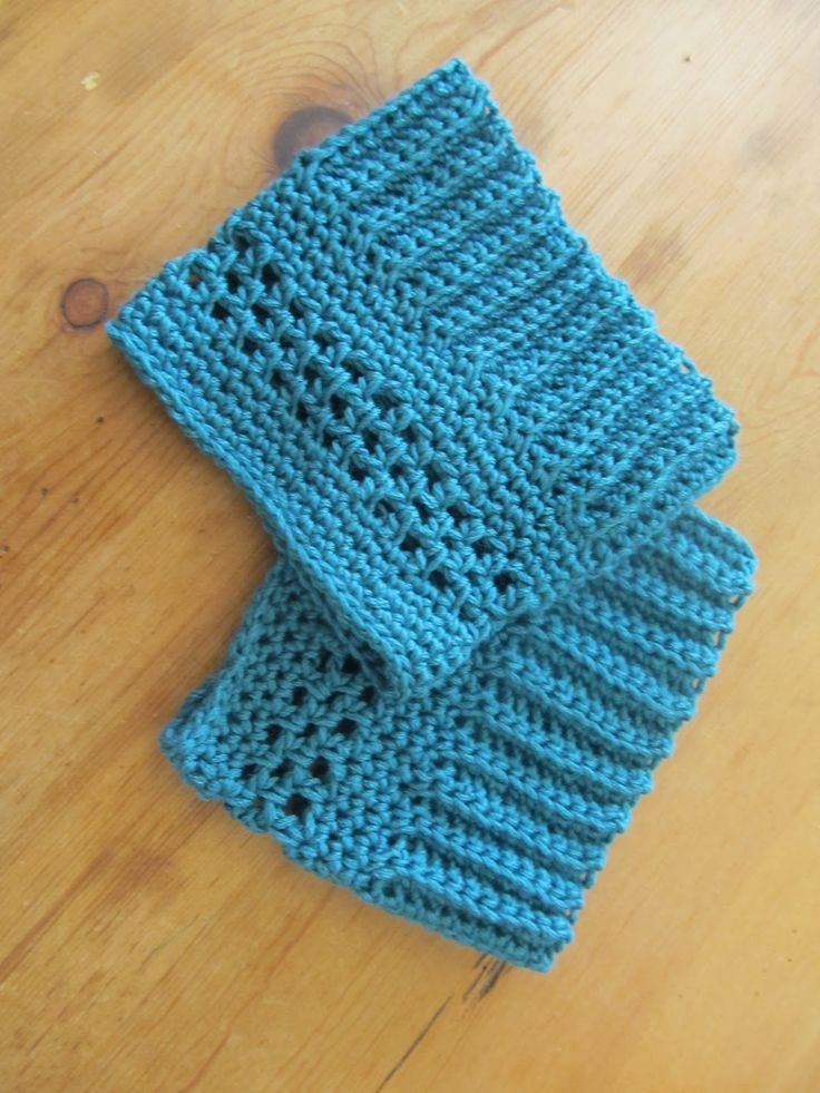 Quick and Easy Crochet Boot Cuff Pattern