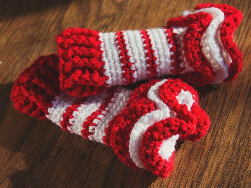 Ruffle Leg Warmers Crochet Pattern