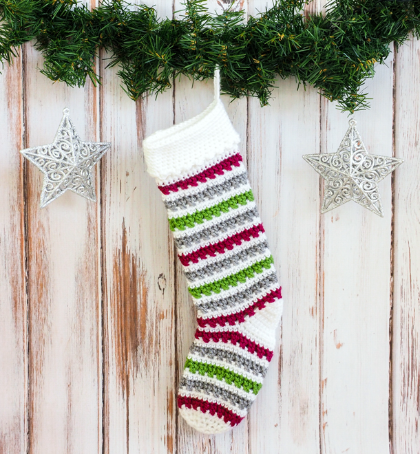 Unique Crochet Christmas Stockings