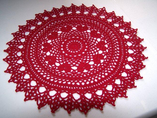 Crochet Pattern for Doily