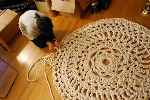 Simple Crochet Doily Pattern