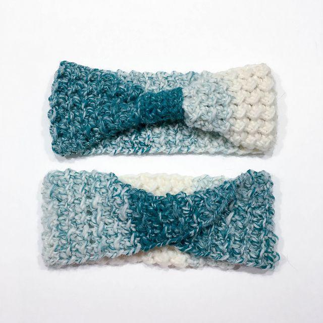 Textured Ear-warmer Crochet Pattern