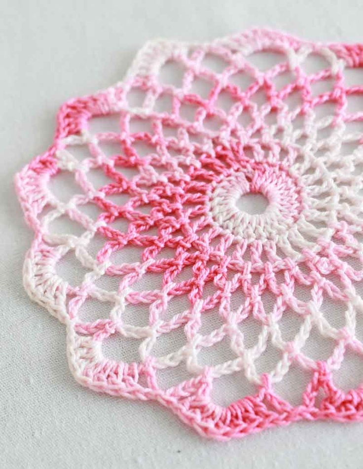 Crocheted Doily Patterns for Beginners