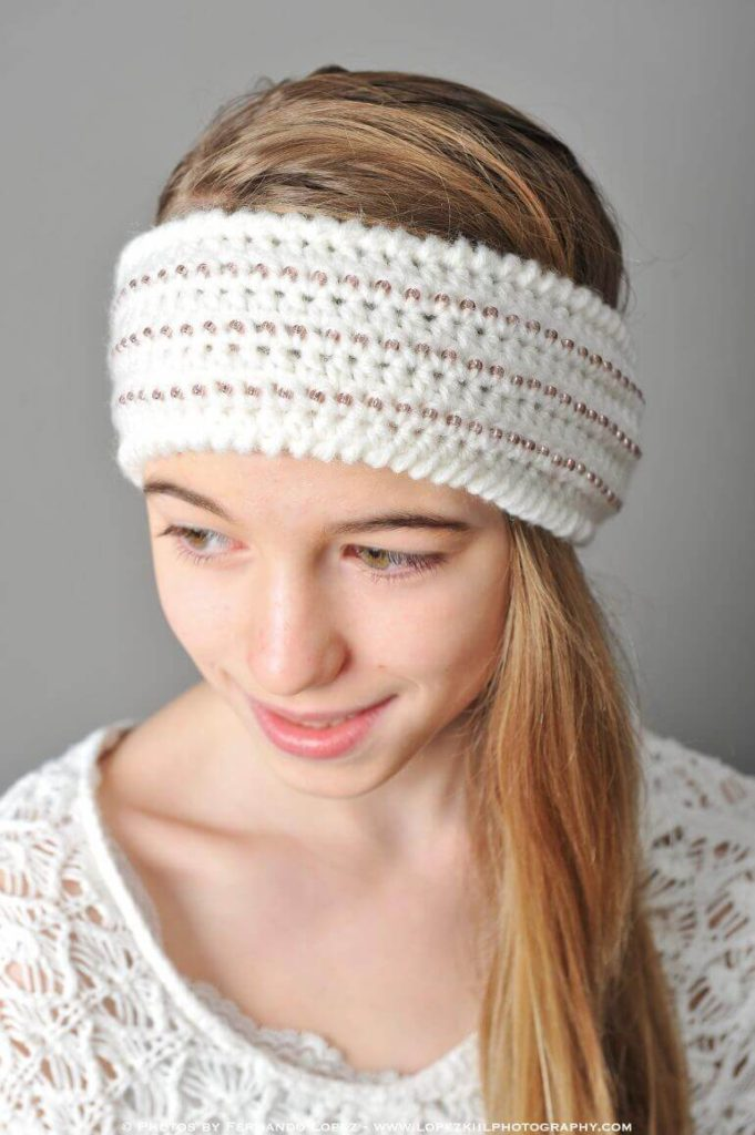 Headband Ear Warmer Crochet Pattern