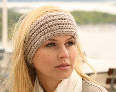 Knit Pattern for Headband