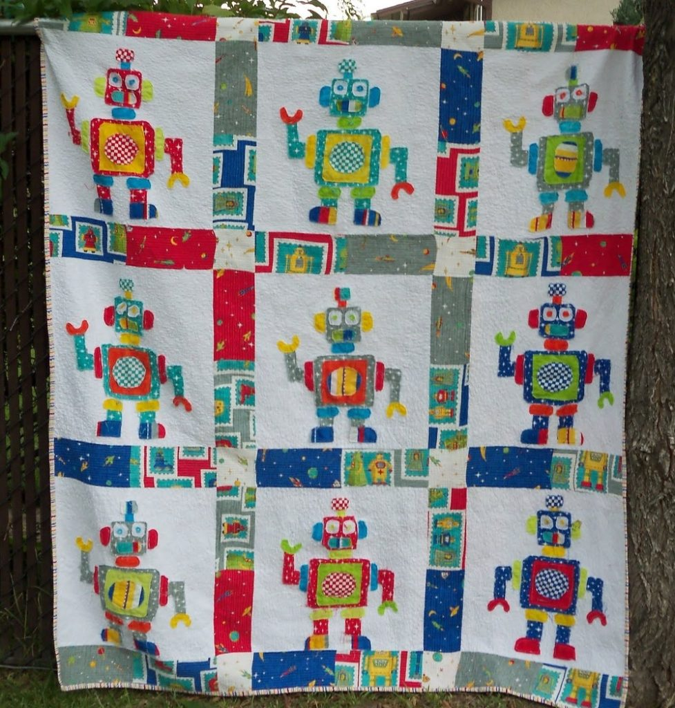 Patchwork Quilt Idea for Boys