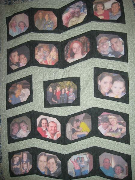 Photo Memory Quilt