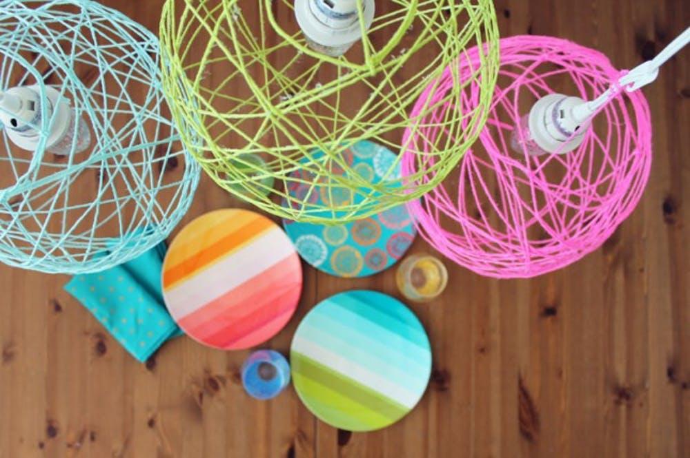 Balloon Yarn Lantern