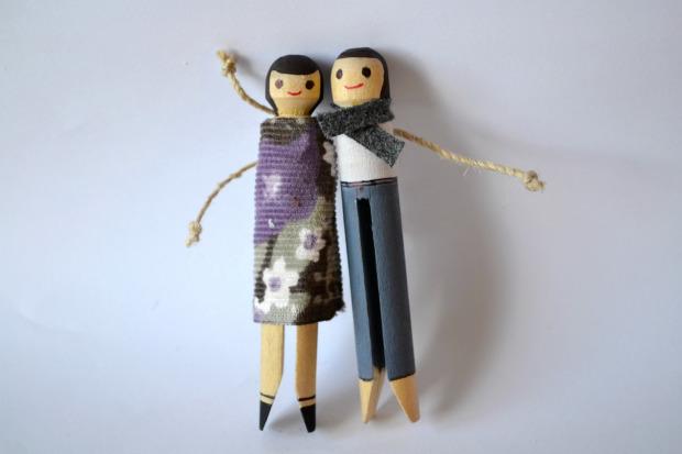 Clothes Peg Dolls