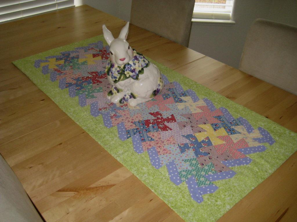 Easy To Make Easter Table Runner