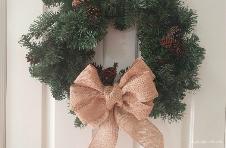 Fancy Burlap Bow