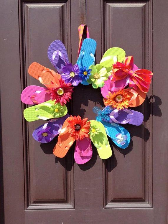 Flip Flop Wreath Ideas