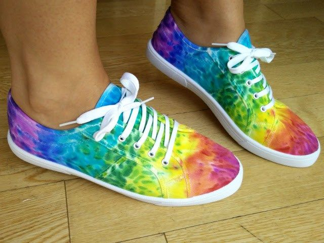 Ombre Canvas Shoes (Sharpies)