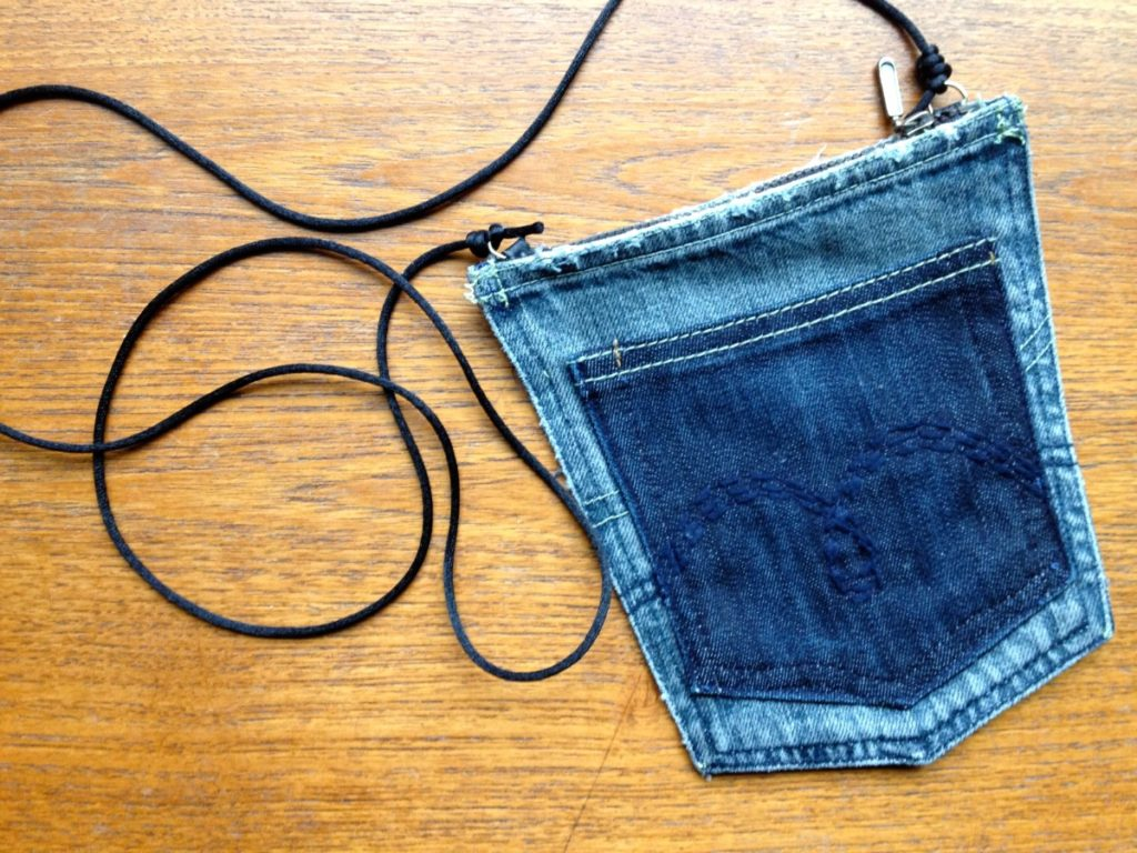 Pocket Purse from Jeans