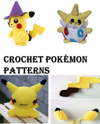 40 Crochet Pokémon Patterns - Gotta Crochet Them All | Crochet News | 420x338