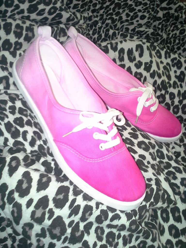 Pretty Pink Dip-Dyed Shoes