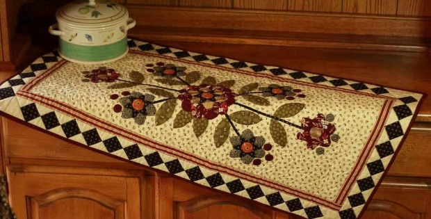 Quilted Table Runner Pattern