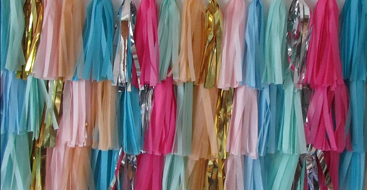 Tassel Garland Backdrop