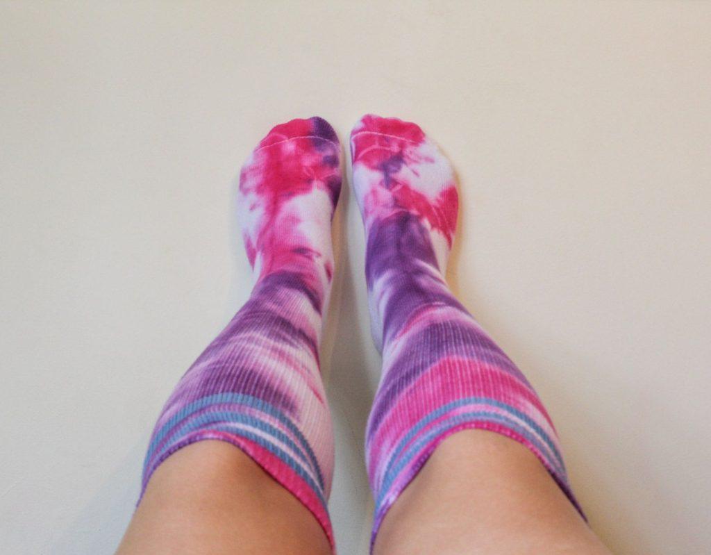 Tie Dye Knee High Socks