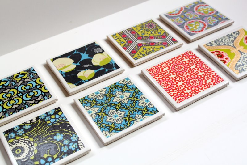 Tile Coaster Designs