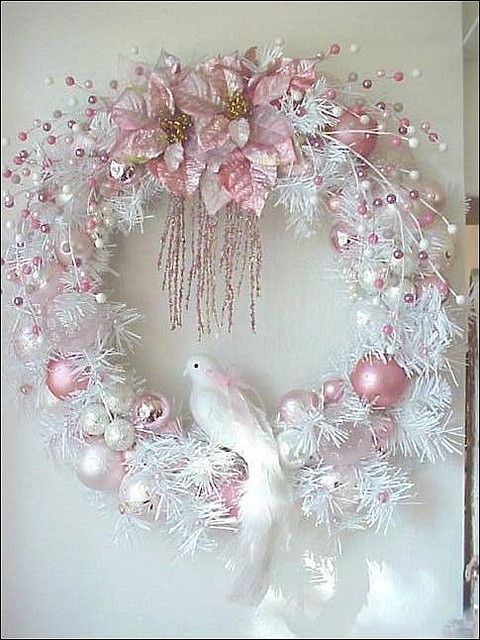 Tulle Wreath for Christmas