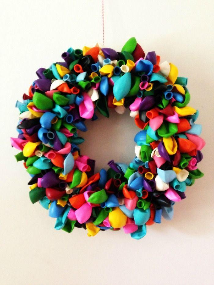 Balloon Wreath Craft