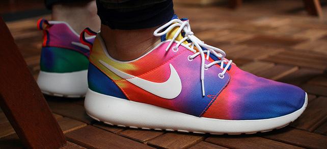 Easy Tie-Dye Shoes