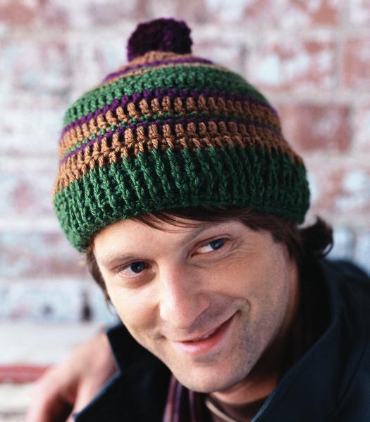 Mens Crochet Hat