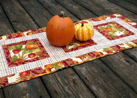 Quilted Table Runners Pattern