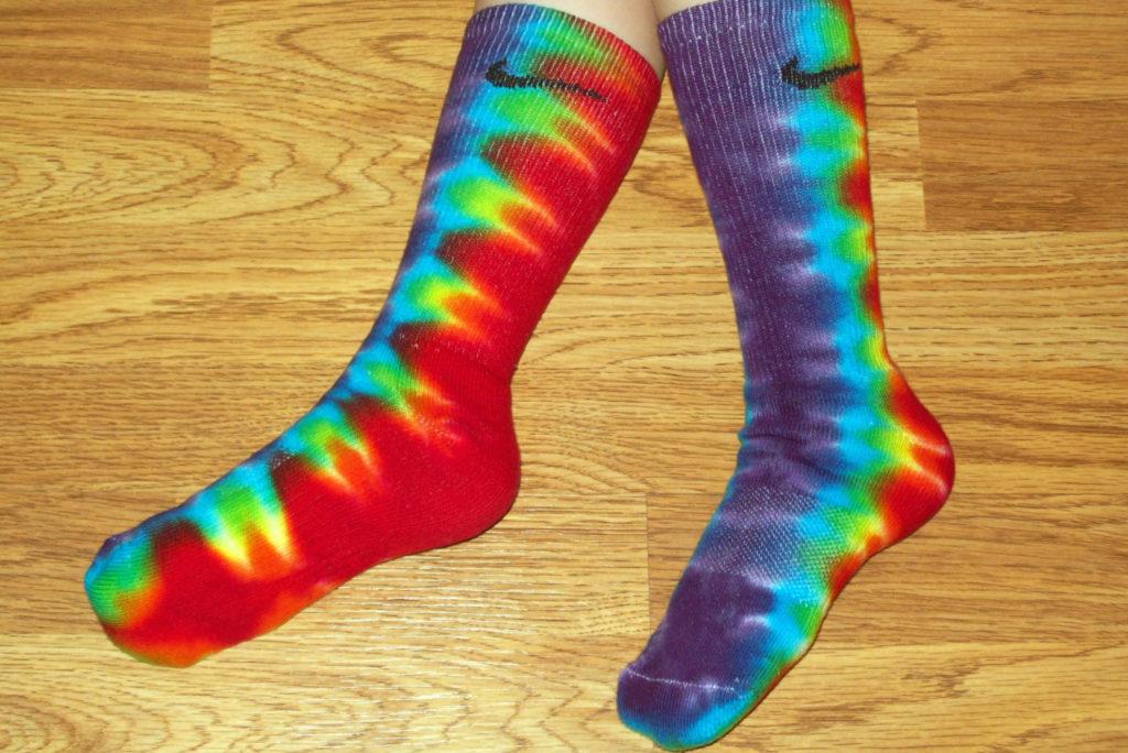Tie Dye Socks Patterns