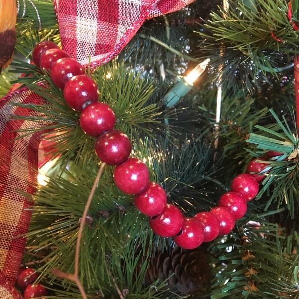 Christmas Beaded Garland