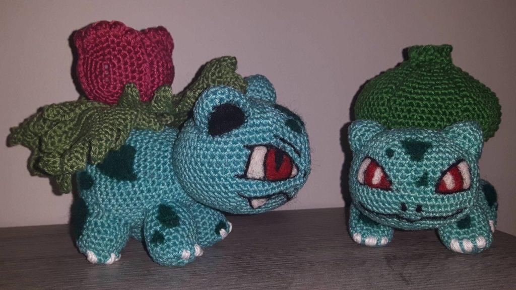 Crochet Pokémon Bulbasaur