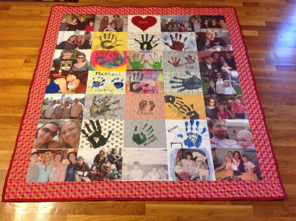 Custom Quilt with Photos