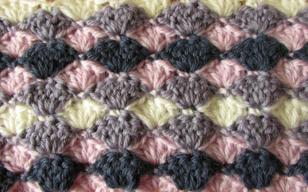 Baby Afghan Crochet Shell Pattern