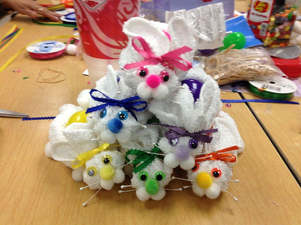 Washcloth Bunny Pattern