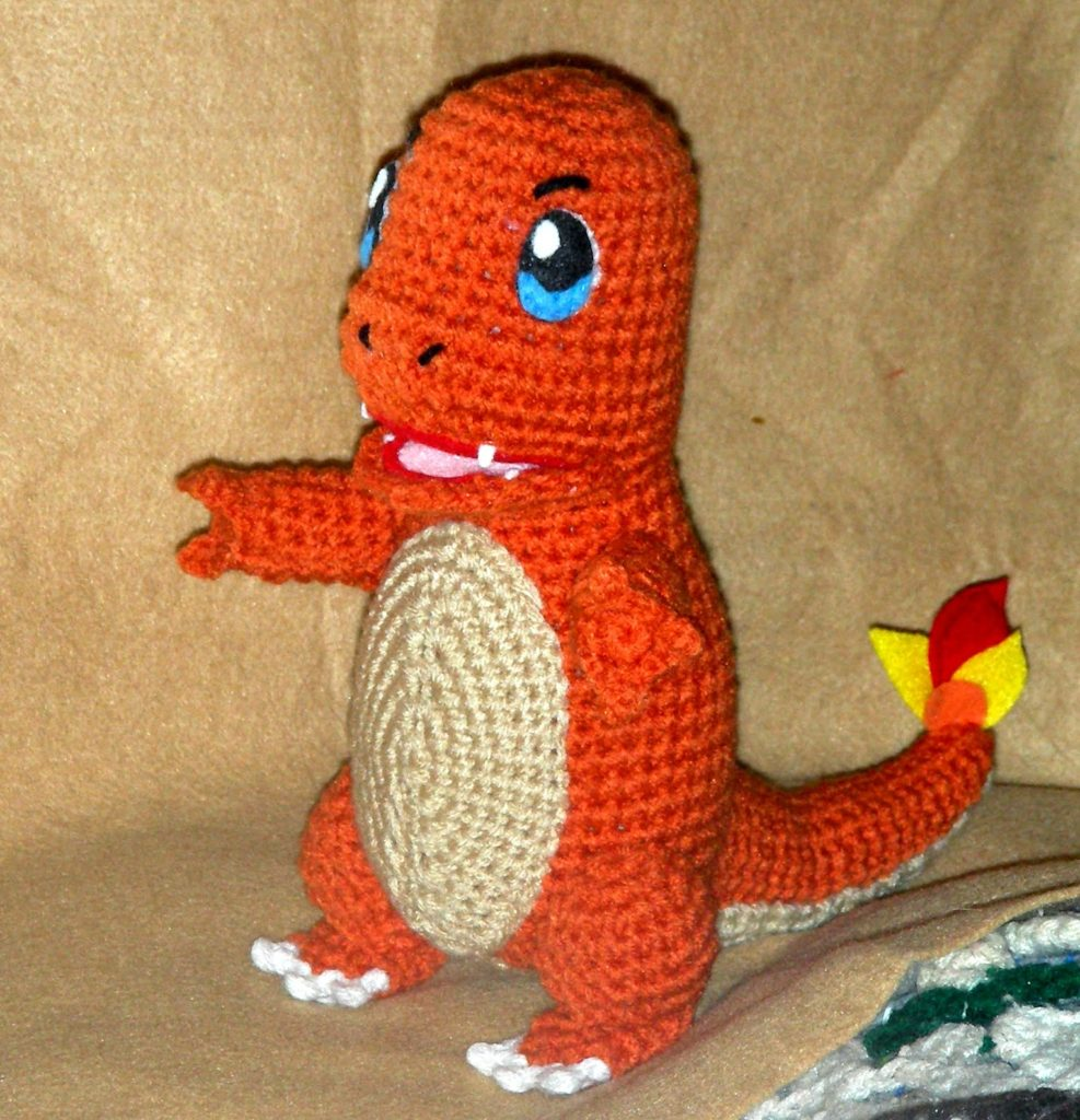 Crochet Pokémon Charmander