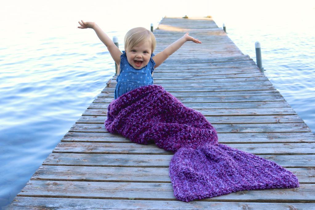 Crochet Mermaid Tail Pattern