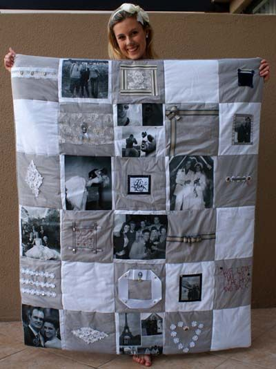 Quilt Made of Photos